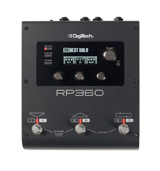 digitech rp360 multi effects guitar processor with usb. Black Bedroom Furniture Sets. Home Design Ideas