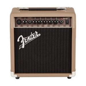 Fender® Acoustasonic 15 Acoustic Guitar Amp 15 Watts