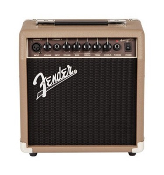 Fender® Acoustasonic 15 Acoustic Guitar Amp 15 Watts