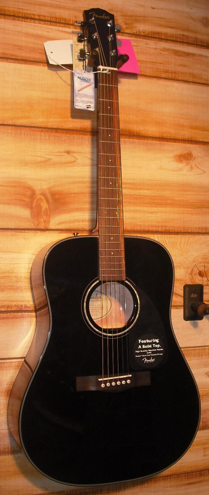 Fender Dg 8s Acoustic Guitar Pack Black