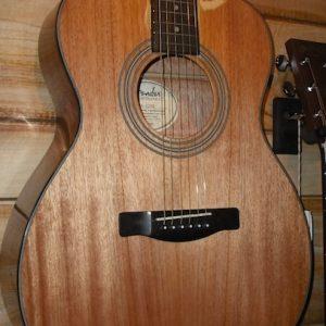 Fender® FA-125S All Mahogany Acoustic Value Pack