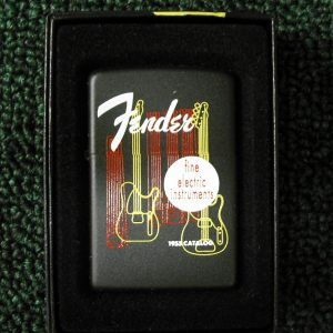 Fender 1955 Catalog Cover Zippo Lighter
