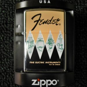 Fender 1957-1958 Catalog Cover Zippo Lighter
