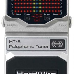 Digitech Hardwire HT-6 HT6 Polyphonic Tuner Pedal