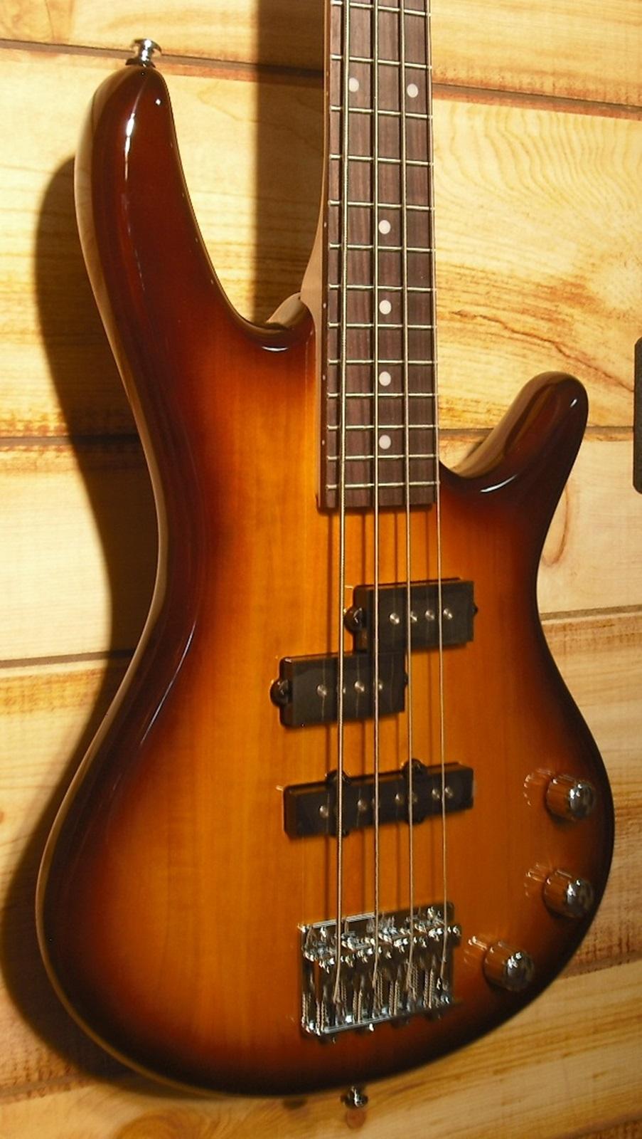 Ibanez GSRM20 Mikro Electric Bass Brown Sunburst