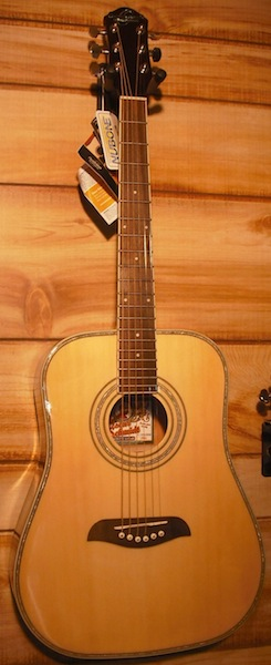 Oscar Schmidt OG1 3/4 Size Guitar Natural