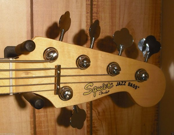 Squier® Vintage Modified Jazz Bass® V Maple Fingerboard Olympic White