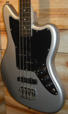 Squier® Vintage Modified Jaguar Bass Special SS Silver