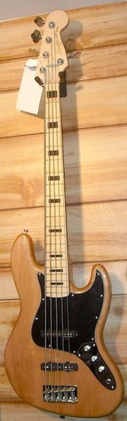 Squier® Vintage Modified Jazz Bass V Natural