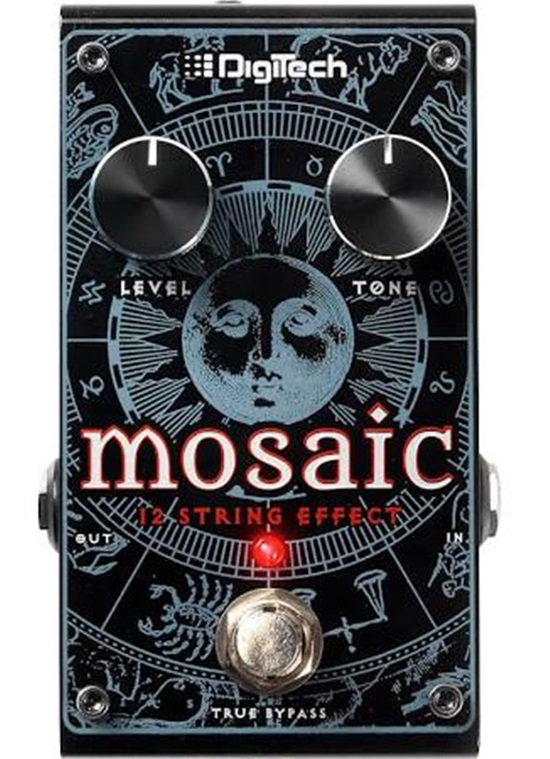 Digitech Mosaic Polyphonic 12 String Guitar Effects Pedal