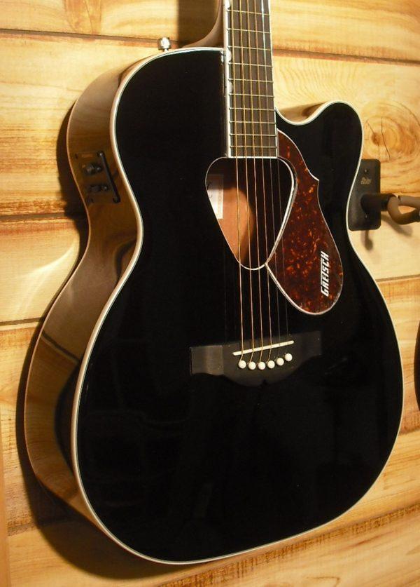 Gretsch Acoustic Guitars >> Gretsch G5013ce Rancher Jr Acoustic Electric Guitar Black