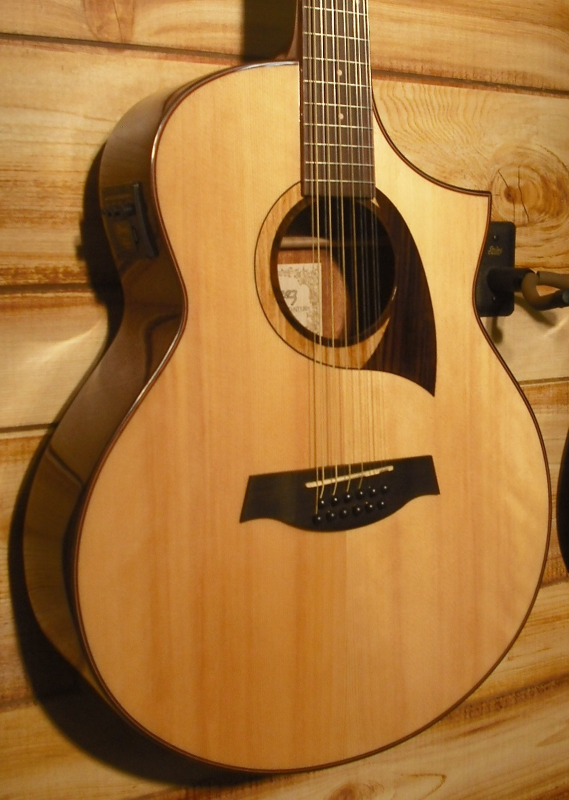 Ibanez AEW2212CD 12 String Acoustic Electric Guitar Natural High Gloss