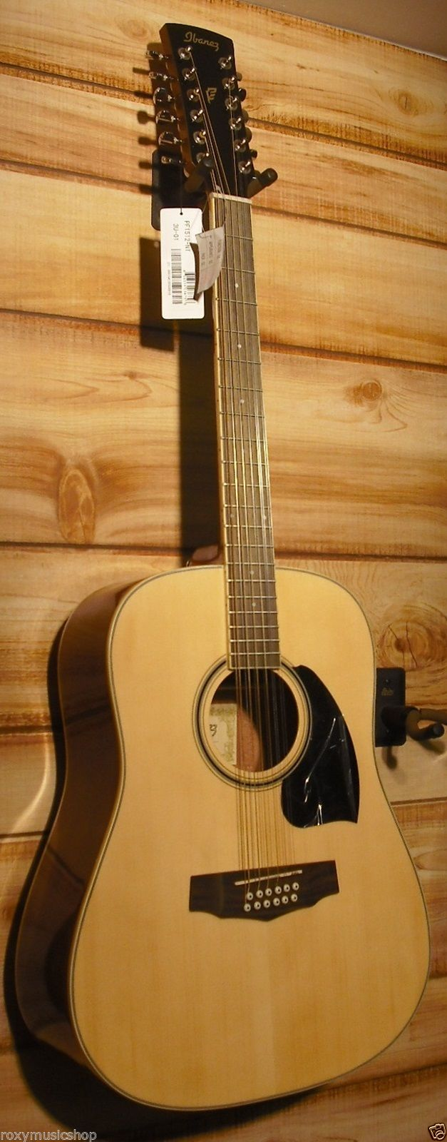 ibanez pf1512 12 string dreadnought acoustic guitar natural high gloss. Black Bedroom Furniture Sets. Home Design Ideas