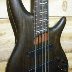 Ibanez SRFF805 Multi Scale 5 String Electric Bass Walnut Flat