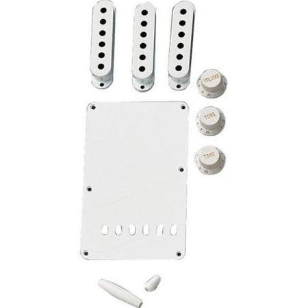 Fender Stratocaster White Accessory Kit