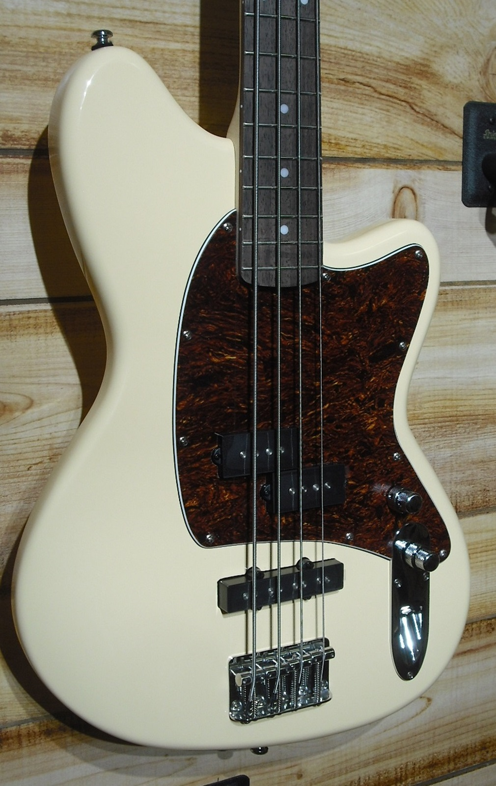 Ibanez TMB100 Talman Electric Bass Guitar Ivory