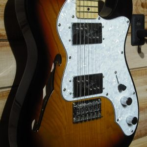 Squier® Vintage Modified '72 Telecaster Thinline Maple Fingerboard 3-Color Sunburst