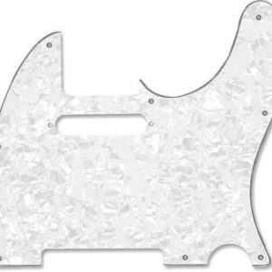 Genuine Fender Telecaster Pickguard 8-Hole 4-Ply Pearl