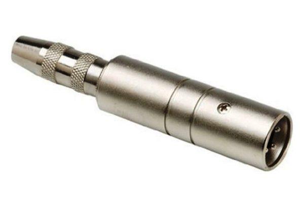 Hosa Impedance Transformer 1/4 Inch TS to XLR3M