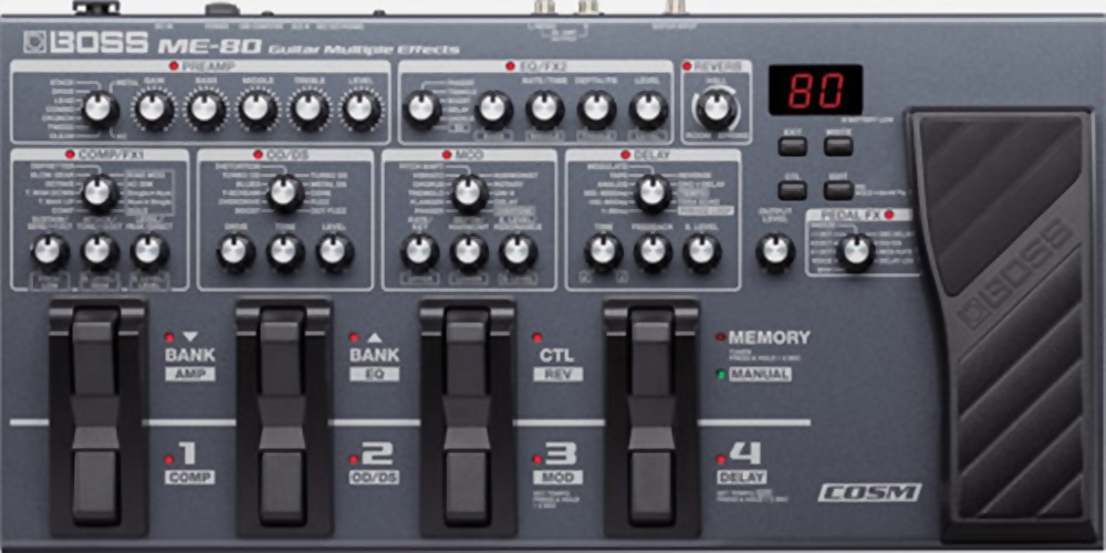 Boss ME-80 Multi Effects Guitar Processor