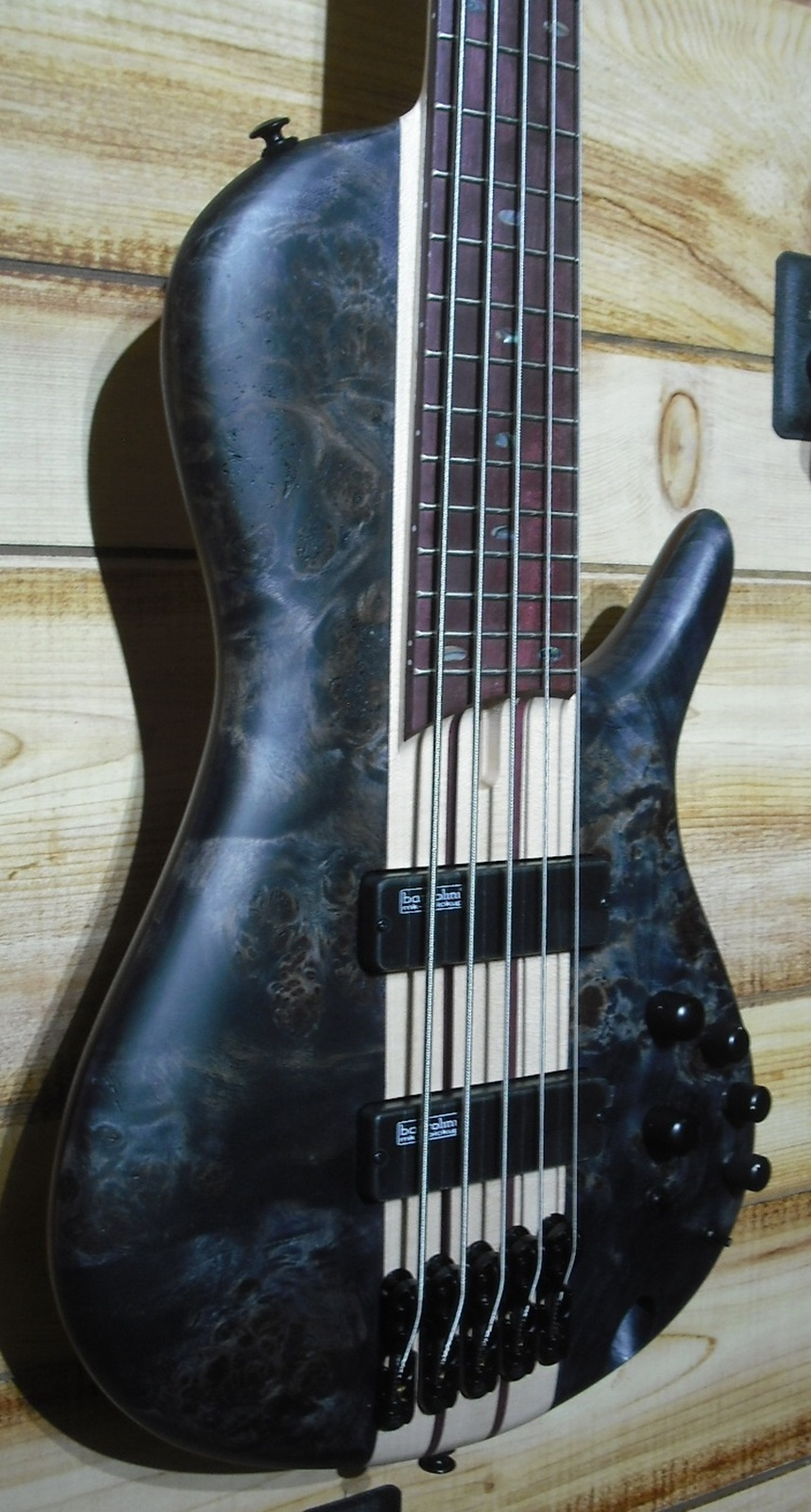 Ibanez SRSC805 Cerro 5 String Single Cut Electric Bass Deep Twilight Flat