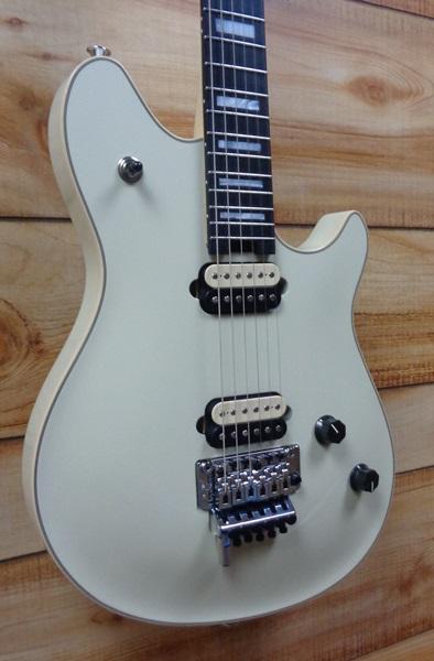 Evh Wolfgang Usa Ebony Fingerboard Electric Guitar Ivory W
