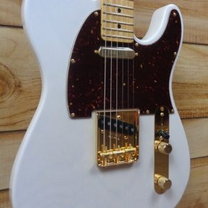 Fender® Limited Edition Select Lightweight Ash Telecaster® White Blonde