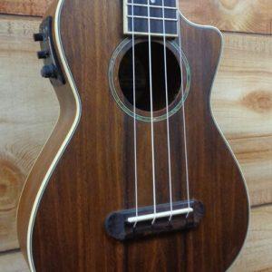 Fender® Mino'Aka Koa Concert Acoustic Electric Ukulele Natural Satin