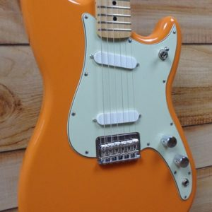 Fender® Duo-Sonic™ Maple Fingerboard Electric Guitar Capri Orange