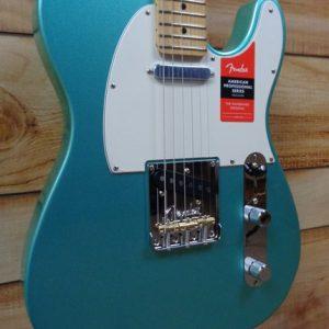 Fender® American Professional Telecaster® Maple Fingerboard Mystic Seafoam w/Case