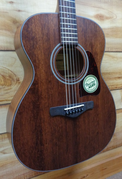 Ibanez AVC9 Artwood Vintage Grand Concert Open Pore Acoustic Guitar Natural