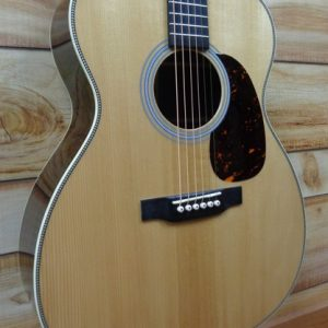 Martin® Custom Shop J-14 Fret Acoustic Guitar Spruce and Rosewood Natural w/Case