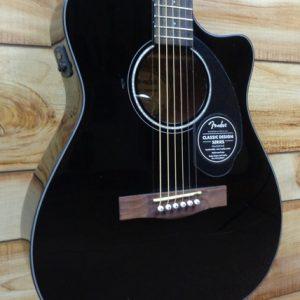 Fender® CC60SCE Concert Acoustic Electric Guitar Black