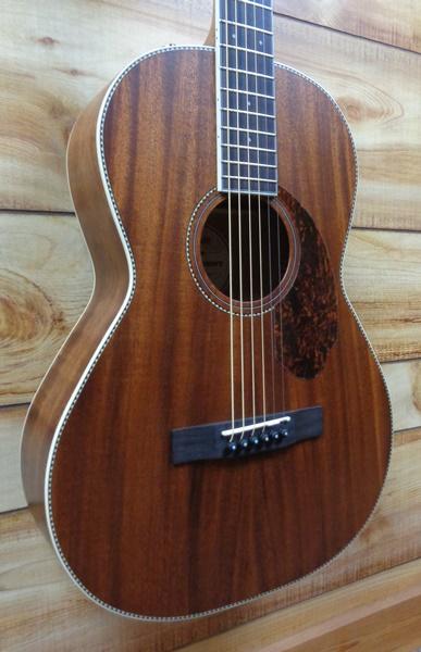 Fender 174 Pm 2 Parlor Ne All Mahogany Acoustic Guitar