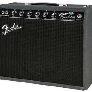 Fender® Limited Edition '68 Custom Princeton Reverb Black and Blue Combo Amp