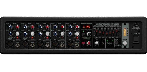 Behringer EUROPOWER PMP550M 5-Channel 500 Watt Powered Mixer