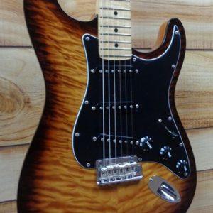 2017 Fender® Limited Edition American Professional Mahogany Stratocaster® Violin Burst w/Case