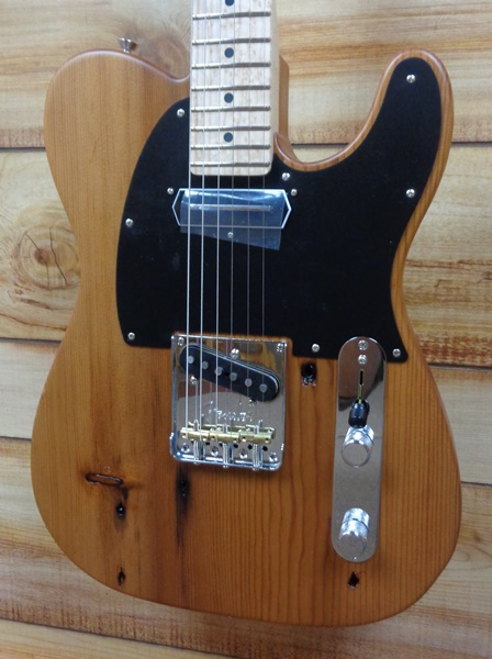 2017 Fender® Limited Edition American Professional Pine Telecaster® w/Case