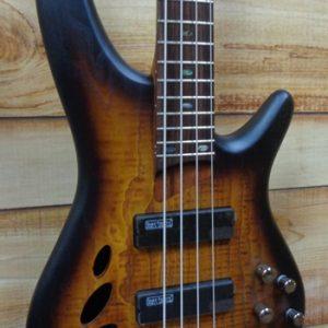 Ibanez SR30TH4II 30th Anniversary 4 String Electric Bass Dragon Eye Burst Flat