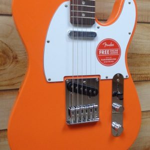 Squier® Affinity Telecaster Rosewood Fingerboard Electric Guitar Competition Orange