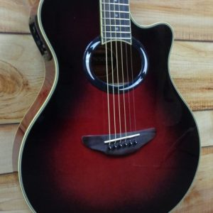 Yamaha APX500III Thinline Acoustic Electric Guitar Dusk Sun Red