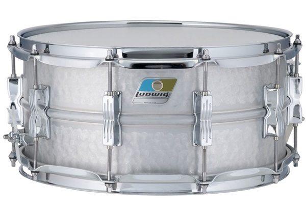 "Ludwig LM405K Hammered Acrolite Snare Drum 6.5"" x 14"""