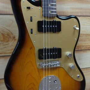 Fender® 60th Anniversary '58 Jazzmaster® Rosewood Fingerboard 2-Color Sunburst w/Case