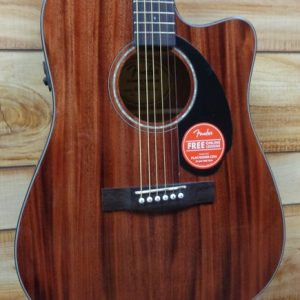 Fender® CD60SCE All Mahogany Acoustic Electric Guitar