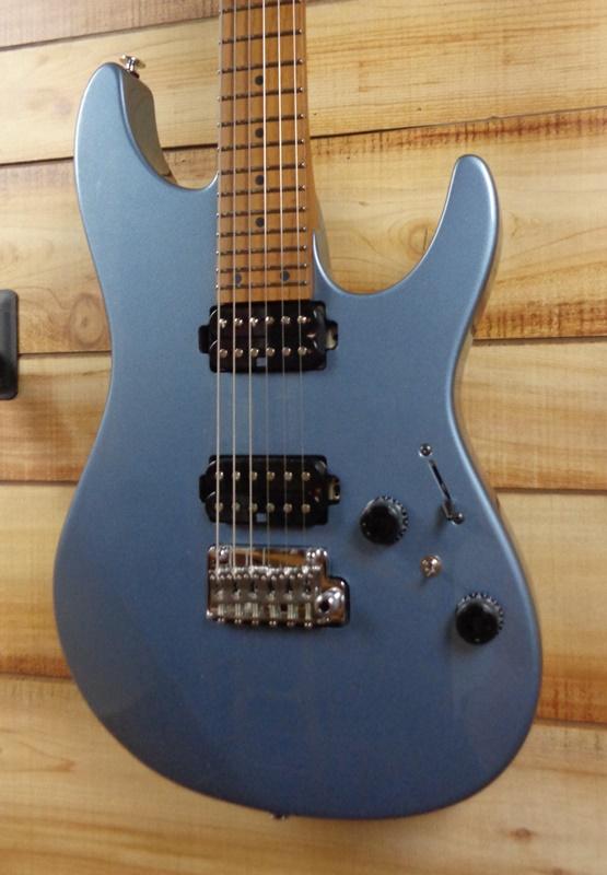 Ibanez Prestige AZ2402 Electric Guitar Ice Blue Metallic w/Case
